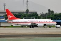Photo: Peru - Air Force, Boeing 737-500, 356
