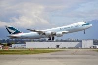 Photo: Cathay Pacific Cargo, Boeing 747-800, B-LJE