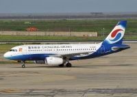 Photo: Chongqing Airlines, Airbus A319, B-6248