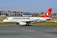Photo: Turkish Airlines THY, Airbus A319, TC-JLV
