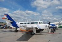 Photo: Caledonian Airborne Systems, Reims F406, G-CVXN