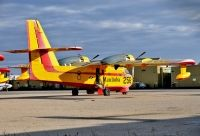 Photo: Government of Manitoba Air Service, Canadair CL-215, C-FTUV