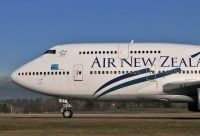 Photo: Air New Zealand, Boeing 747-400, ZK-NBT