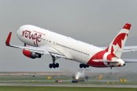 Photo: Air Canada Rouge, Boeing 767-300, C-GHLV