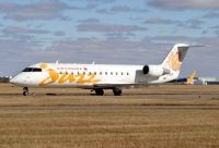 Photo: Air Canada Jazz, Canadair CRJ Regional Jet, C-FSJF