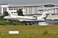 Photo: Berjaya Air, Bombardier BD-700 Global Express, 9M-TAN