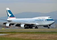 Photo: Cathay Pacific Airways, Boeing 747-400, B-HOT