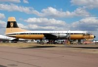 Photo: Monarch Airlines, Bristol Britannia 310, G-AOVT