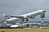 Photo: Cathay Pacific Airways, Boeing 777-300, B-KQQ