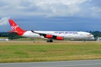 Photo: Virgin Atlantic Airways, Airbus A340-200/300, G-VSUN