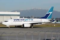 Photo: WestJet, Boeing 737-700, C-FZWS