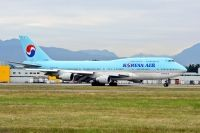 Photo: Korean Air, Boeing 747-400, HL7460