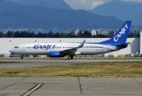 Photo: CanJet Airlines, Boeing 737-800, C-FXGG