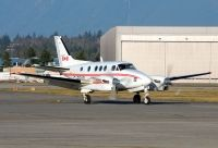 Photo: Canadian Ministry of Transport, Beech King Air, C-FGXQ
