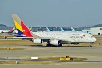 Photo: Asiana Airlines, Airbus A380, HL7635