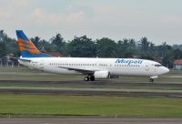 Photo: Merpati Nusantara Airlines, Boeing 737-400, PK-MDS
