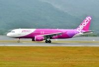 Photo: Peach, Airbus A320, JA804P