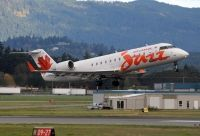 Photo: Air Canada Jazz, Canadair CRJ Regional Jet, C-FWJS