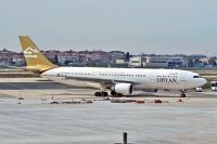 Photo: Libyan Airlines, Airbus A330-200, 5A-LAU