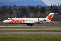 Photo: Air Canada Jazz, Canadair CRJ Regional Jet, C-FSJJ