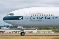 Photo: Cathay Pacific Airways, Boeing 777-300, B-KQX