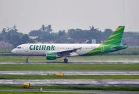 Photo: Citilink, Airbus A320, PK-GLV