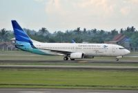 Photo: Garuda Indonesia, Boeing 737-800, PK-GML