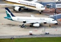 Photo: SilkAir, Airbus A320, 9V-SLQ