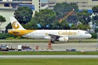 Photo: Golden, Airbus A320, XY-AGS