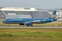 Photo: Vietnam Airlines, Airbus A321, VN-A335