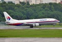 Photo: Malaysia Airlines, Boeing 737-400, 9M-MQF