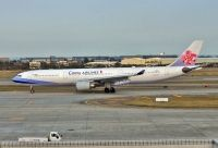 Photo: China Airlines, Airbus A330-300, B-18317