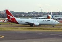 Photo: Qantas, Boeing 737-400, VH-TJG
