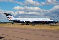 Photo: British Airways, BAC One-Eleven 500, G-AVMU