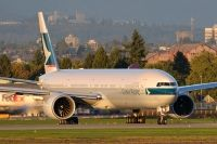 Photo: Cathay Pacific Airways, Boeing 777-300, B-KQY