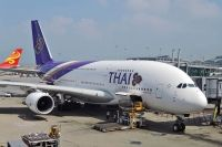 Photo: Thai Airways International, Airbus A380, HS-TUA