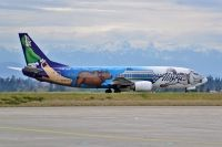 Photo: Alaska Airlines, Boeing 737-400, N705AS
