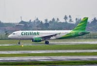 Photo: Citilink, Airbus A320, PK-GLT