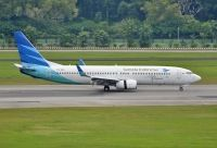 Photo: Garuda Indonesia, Boeing 737-800, PK-GMH