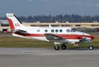 Photo: Canadian Ministry of Transport, Beech King Air, C-GCFZ