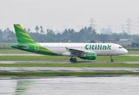 Photo: Citilink, Airbus A320, PK-GLL