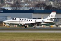 Photo: Untitled, Cessna Citation, C-GKZR