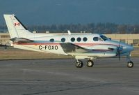 Photo: Canadian Ministry of Transport, Beech King Air, C-FGXO