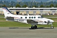 Photo: Canadian Ministry of Transport, Beech King Air, C-FGXT