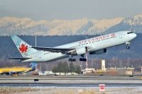 Photo: Air Canada, Boeing 767-300, C-GZBR