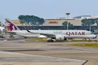 Photo: Qatar Airways, Airbus A350, A7-ALC