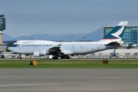 Photo: Cathay Pacific Cargo, Boeing 747-400, B-HKH