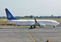 Photo: Garuda Indonesia, Boeing 737-800, PK-GEQ