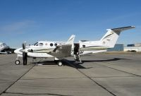 Photo: Province of Saskatchewan, Beech King Air, C-GSAV