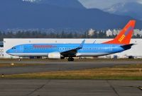 Photo: Sunwing Vacations, Boeing 737-800, G-FDZA